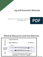 Kuliah-3 Ore Classification Reporting