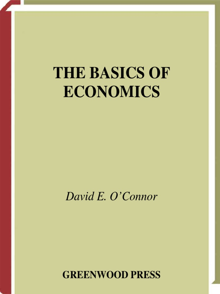 Basics of Economics (2004)   Labour Economics   Economics