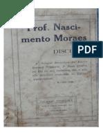 Discurso Nascimento Moraes Esc Normal 1935