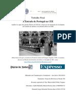 A Entrada de Portugal Na CEE