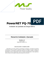PowerNET PQ-700 G4 Manual de Instalação e Operação