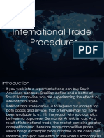Session 1 - Int Trade