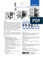 Direct Gas Fire Oven-PS540G-P