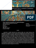 Berasain, Nicolás - Filosofía Cosmopolítica de la Agenda Alienígena