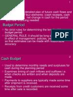 Cash Budget Module