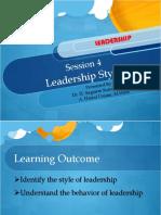 Slide 4 Leadership Styles