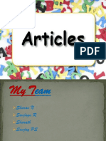 Article PPT prepared by Sanjay P. S