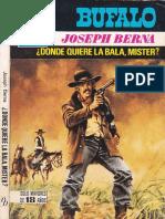 Berna Joseph - Donde quiere la bala, mister.epub