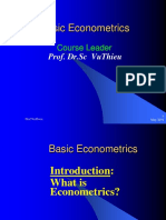Ekonometrika - Vulthiew