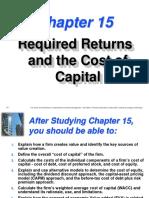 Cost of Capital formulas