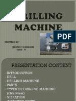 Drilling Machine Vibration 1
