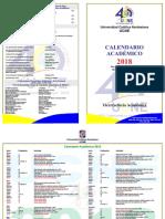 CalendarioAcademicoUCNE_2018