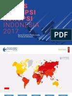 Indeks Persepsi Korupsi Indonesia 2017