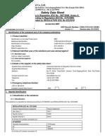 MSDS Accelerator MBT 2-Mercaptobenzothiazole Kemai