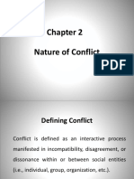 Ch 2 Nature of Conflict