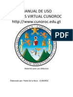Manual de Uso Campus Virtual Cunoroc Estudiantes