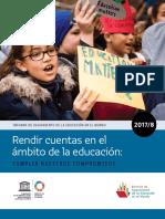 UNESCO Informe de Seguimiento de La Educación en El Mundo 2017