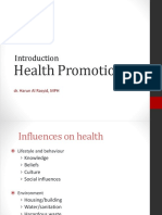 Health Promotion - 2011