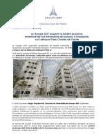 Groupe ADP Acquiert La Totalite Du Dome Ensemble de Huit Immeubles de Bureaux a Roissypole