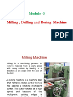 Milling Drilling and boring machine