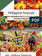 Philippine Festivals PPT