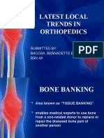 Latest Trends in Orthopedics