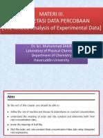 3 Interpretasi Data Percobaan