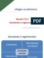 Deontologia Academica_Standarde Si Reglementari