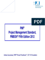 Pm Bok Guide 5 the Dition
