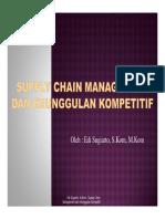 2 Edi SCM SCM Dan Keunggulan Kompetitif