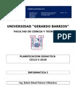 Jornalizacion Informatica I Lic Admon Empresas