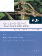 Transportation Engineering Review