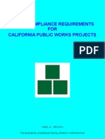 Labor Compliance Requirements For California Public Works Projects
