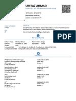 Bio Data, Sample Smart Resume,  CV Curriculum Vitae
