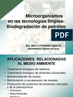 Uso de Microorganismos en Las Tecnologías Limpias COREIA