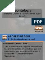 Teontologia - Lição 9