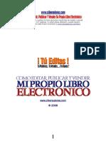 Como Escribir Publicar Y Vender Su Propio Libro Electronico