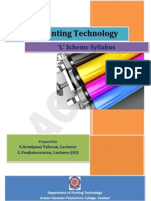 4offset_printing_technology pdf | Lithography | Ph