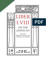 Crowley - Liber LVIII