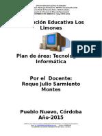 7.-Plan de Area de Tec. Informatica 2015