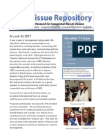 Congenital Muscle Disease Tissue Repository Newsletter 2017