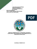 Manuales Administrativos y Financieros