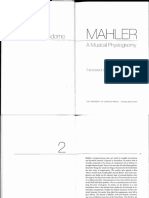 T. W. Adorno - Mahler a Musical Physiognomy