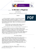 How to Become a Magician_ a MiniHuna Lesson