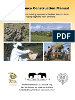 2011 King.L.E Beehive Fence Construction Manual
