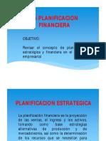 Unidad Tres Finanzas La Planificacion Financiera