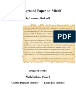 Background on Michif an Overview Final Barkwell