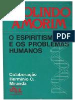 97490249 Deolindo Amorim O Espiritismo e Os Problemas Humanos