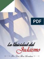 E-Book Unicidad Del Judaismo