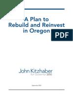 Kitzhaber's Plan for Oregon (Full Report)